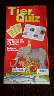 Tier Quiz Karten mit Buch