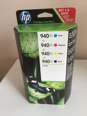 HP 940XL Druckerpatronen 4-Pack C2N93AE