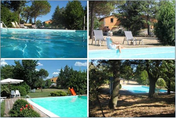 Ferienhaus mit Pool in Italien