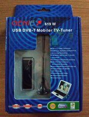 USB DVB-T Mobiler TV-Tuner - NEU