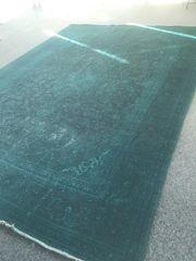 Vintage Perserteppich 4x3m 100 Wolle