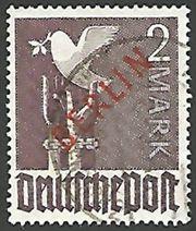 Briefmarke Berlin 1949 Michel DE-BE