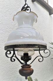 Massive rustikale Lampe Schmiedeeisen
