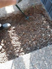 Schotter für Platten Auffüllmaterial Untergrund