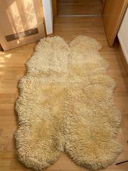 Wollschaf-Lammfell Teppich UVP 462 Euro