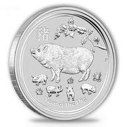 10 Unzen Silbermünze Lunar II
