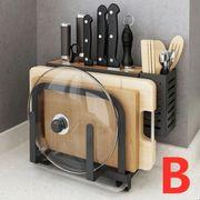 Multifunktionales kreatives Küchenregal Küchenbedarf gross