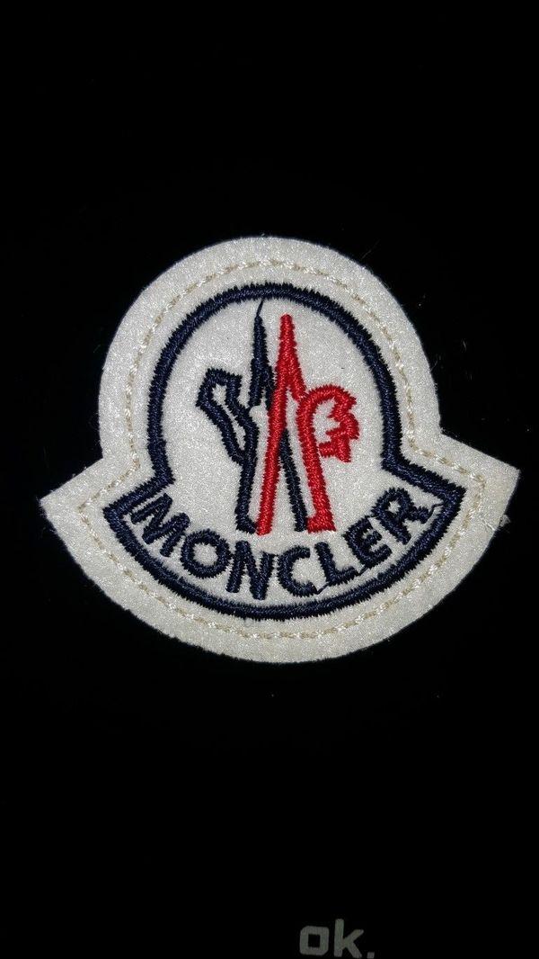 Moncler Patch Aufnäher Abzeichen Logo Mütze Jacke Abzeichen