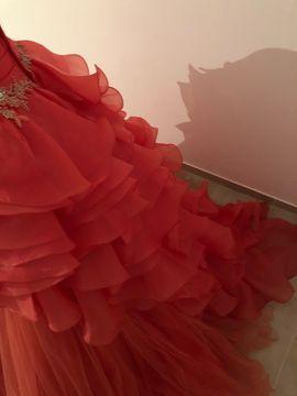 Festliche Abendbekleidung, Damen und Herren - Verlobungskleid neu