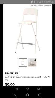 Bartisch und 4 Stühle von
