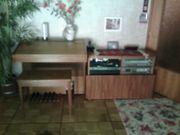 Musikanlage mit Radio Casettenrecorder Plattenspieler