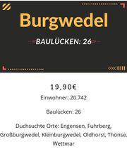 Baulücken in Burgwedel