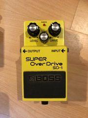 Boss Super Over Drive SD-1
