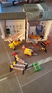 Playmobil Bauhof zum Mitnehmen mit
