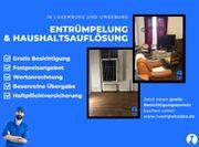 Entrümpelung Haushaltsauflösung in Luxemburg Ruempelrobbe