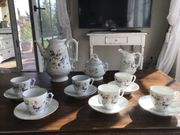 Antikes Kaffeeservice von Ernst Glöcke