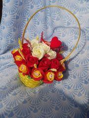 geschenk aus rosen zum verschenken