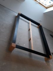 Holzbett massiv von Möbelum