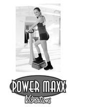 Vibrationsplatte Power Maxx