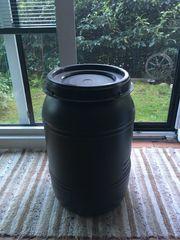 65 Liter Wasserfass mit Schraubdeckel
