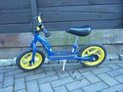 Laufrad blau gelb