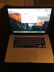 MacBook Pro 15 Zoll mit