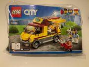 LEGO City Pizzawagen 60150 komplett
