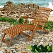 Sonnenliege aus Holz - Marke Sun