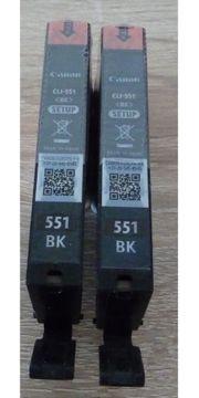 Original Canon Tintenpatronen CLI-551BK schwarz