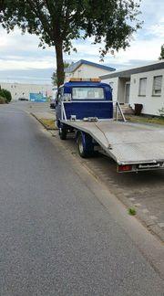 Abschleppdienst Überführung Baumaschine Fahrzeugtransport Autotransport