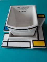Tasse mit Untersetzer Ceramic ART4