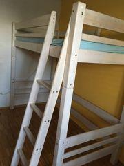 Möbelum Hochbett Kinderbett Jugendbett JOHN