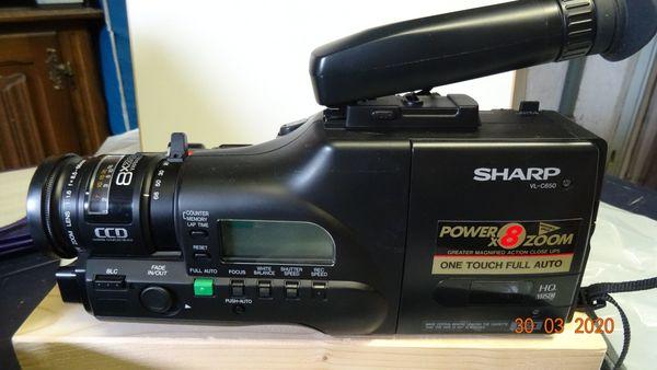 VHS-Sharp CamcorderVL-C650S komplett im Systemkoffer