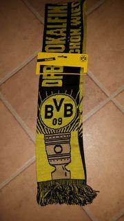 BVB Schal DFB Pokalfinale 2014
