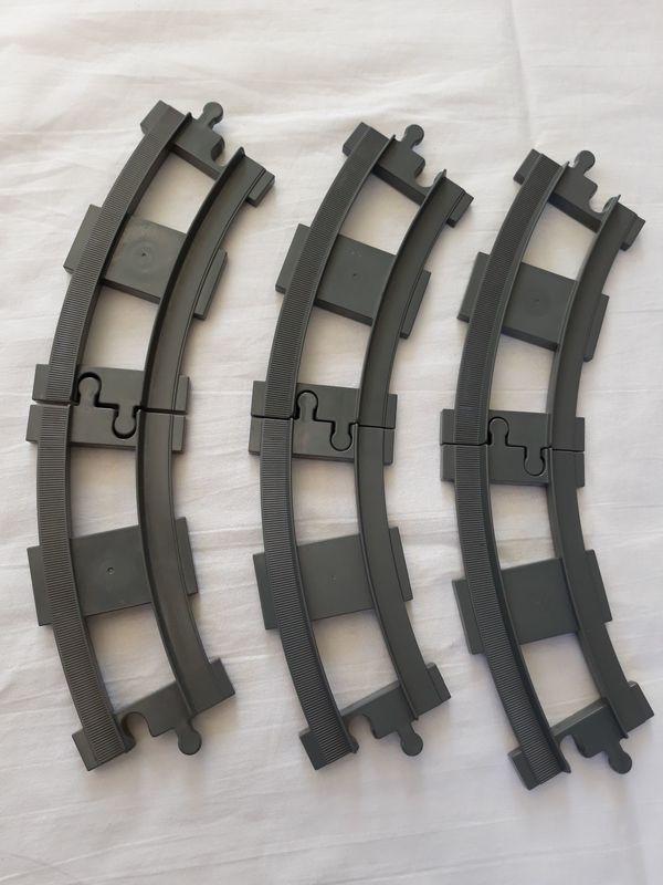 Lego Duplo Eisenbahnschienen
