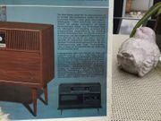 Musikschrank 60er Jahre