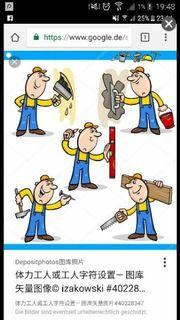 2 Handwerker suchen Arbeit