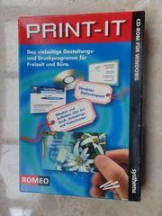 PRINT-IT Etiketten-Druck-Software auf CD ROM