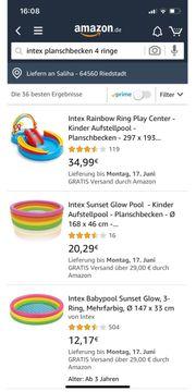 Intex Planschbecken