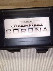 Corona vertampfer akkutrager