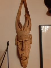 Einzigartige afrikanische Holz-Masken Paket 1