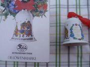 Hutschenreuther Weihnachtsglocke 1997 Sammler Porzellan