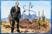 JASON STATHAM mit Kamel Souvenir