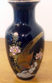 alte formschöne japanische Vase in