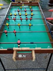 Tischfussball Kicker
