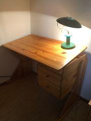 Schreibtisch Vollholz