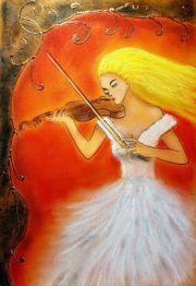Marie Javorkova - Romantic violinist Original