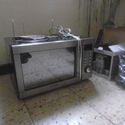 Mikrowellengerät mit Heißluft und Grill