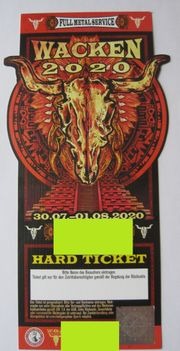 WAO - Wacken 2020 - Ticket