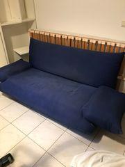 Sofa Königsblau